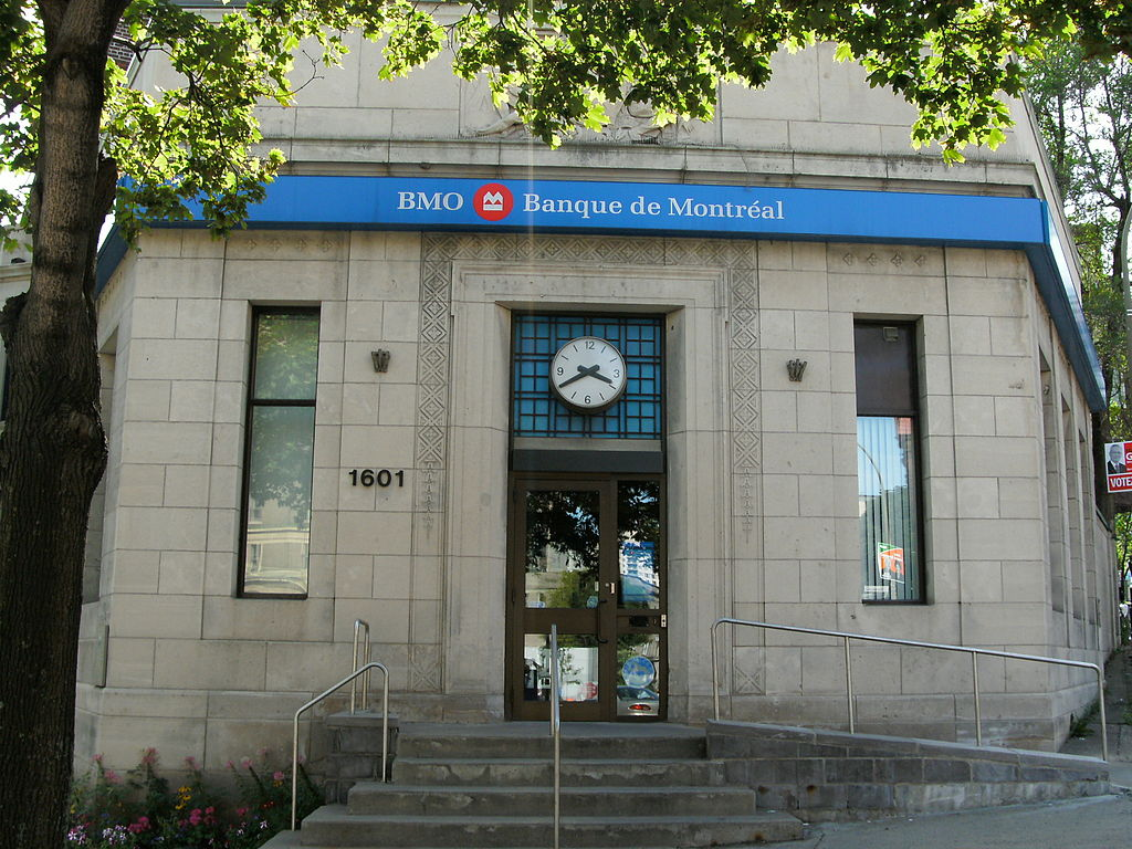BMO Financial Group offers a broad range of retail banking, wealth management and investment banking products and services to more than 12 million customers. (image: wikipedia)