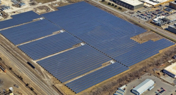 Hanwha Q Cells Co. last month signed a deal to sell 1.5-gigawatt solar modules to U.S.-based NextEra Energy Inc. by 2016, the single largest deal in the industry. (image: Hanhwa Q Cells)