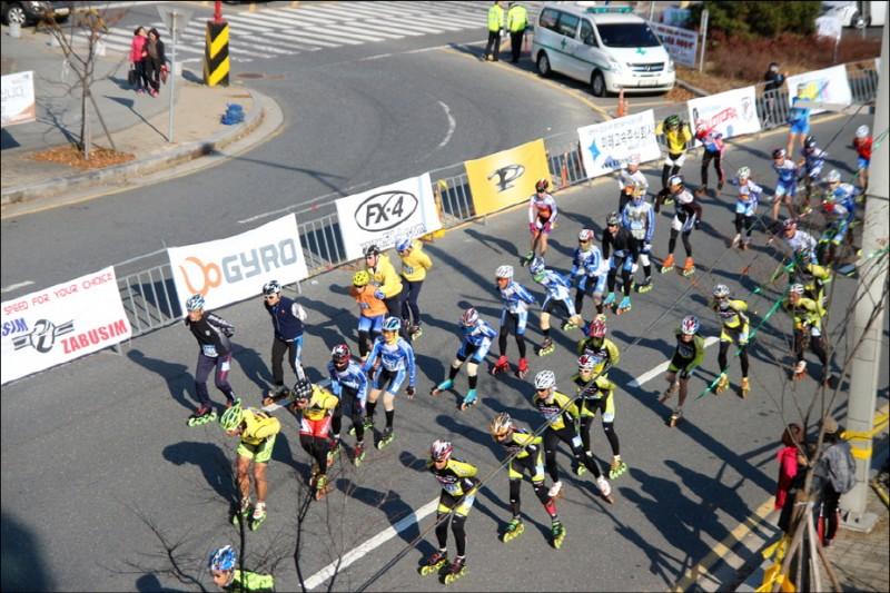 Seawall In-Line Skating Marathon Opens in June in Saemangeum