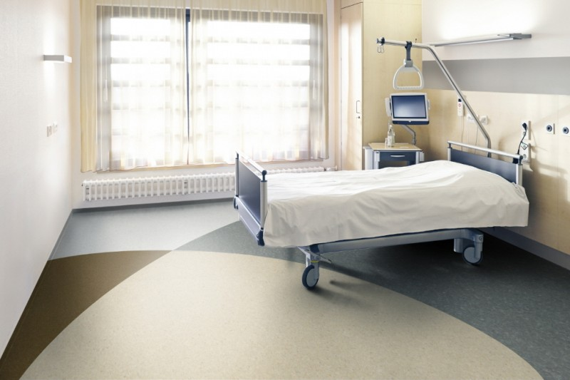 LG Hausys Launches Load-Bearing, Anti-Smudging Flooring for Medical Facilities
