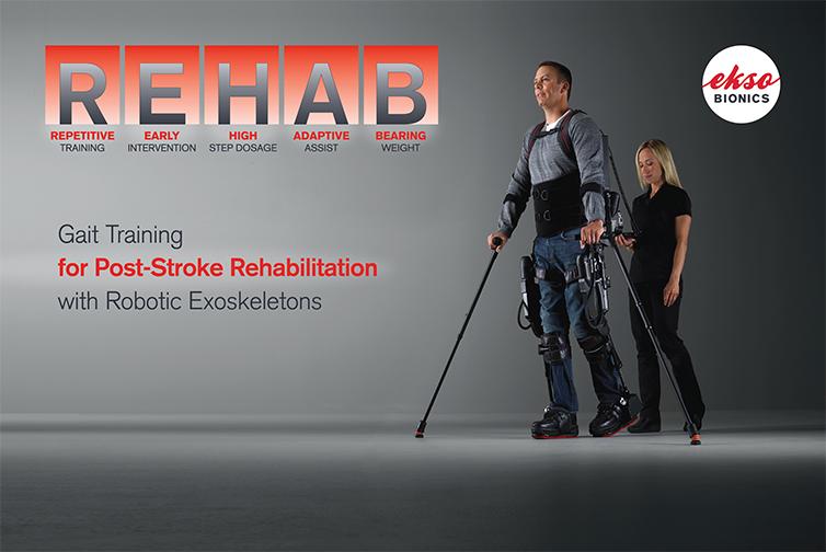 Ekso Bionics has been pioneering the field of robotic exoskeletons, or wearable robots. (image: Ekso Bionics)