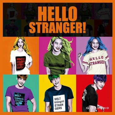 Giordano Launches 'World without Strangers' T-Shirts