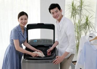 "Samsung Sells 100,000 ""Active Wash"" Washing Machines"