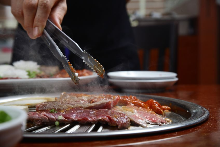 The data showed that grilled rib restaurant seems to be popular regardless of the season. (image: Korea Bizwire)
