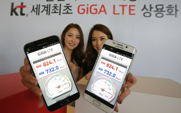 KT Unveils New Mobile Network of Gigabyte Speed