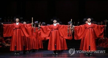 Korean Royal Ritual Music to Go to Paris