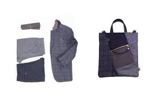 Parkland will offer stock fabric which can make 600 pairs of suits during the first half of this year, and Ecoin Blank will make bags with the fabric. (image: Yonhap)