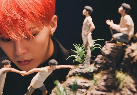The exhibition has drawn much attention for being the first-ever exhibition of art works created in collaboration with South Korean pop star G-Dragon of BigBang.  (image: Seoul Museum of Art)