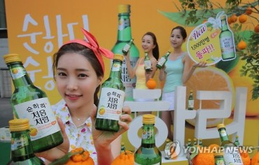 Popularity of Fruit Cocktail Soju Reaching New Highs