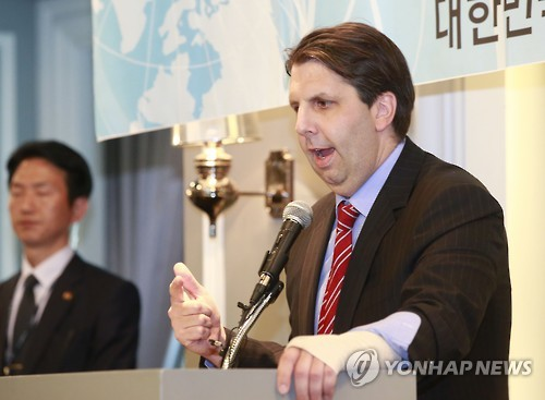 Mark Lippert, US Ambassador to Korea (image: Yonhap)
