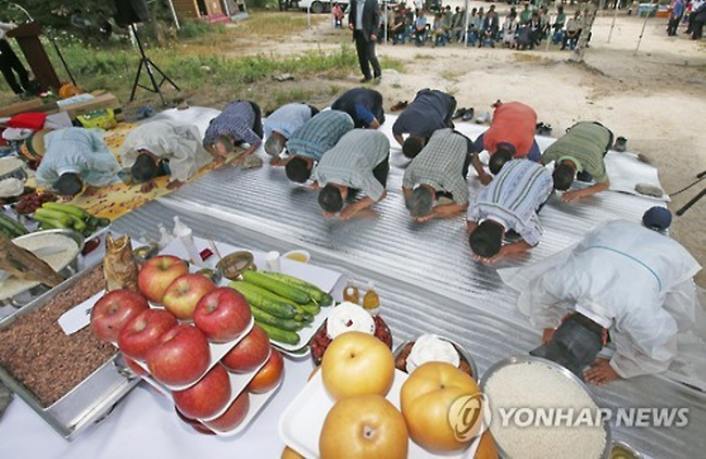 Chuncheon Residents Hold Rain Calling Ritual amidst Record Drought
