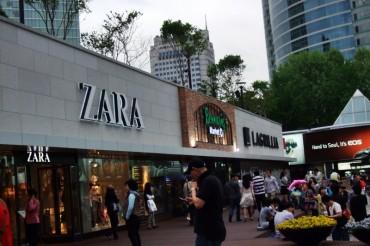 Zara's Prices in Korea Highest in the World