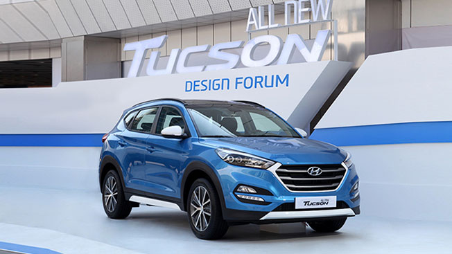 Hyundai to Roll out All-new Tucson in North America in July