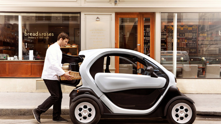 The Korean government will invest a total of 40 billion won (US$ 35.89 million) in establishing a micro-mobility industry in Korea from 2014 to 2017. (image: Renault)