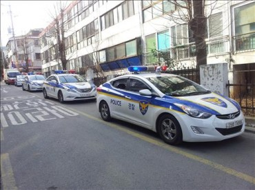 Gangseo District's Patrol Cars Get in Line