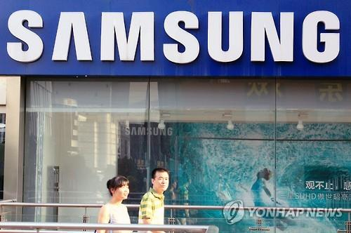 The share of Samsung Electronics dropped to a one digit number, ranking fifth in the Chinese smartphone market.  The Chinese brands Xiaomi and Huawei ranked first and second, with Apple coming in next. (Image : Yonhap)
