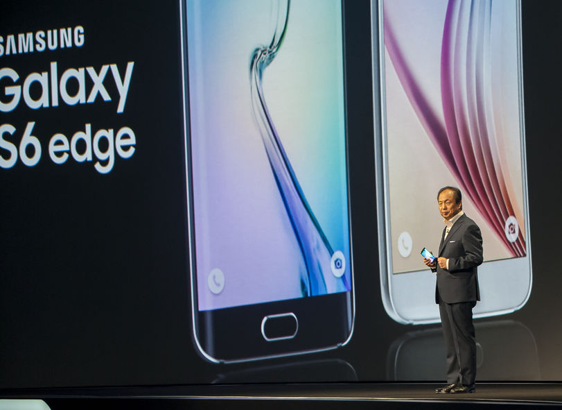 Samsung took up 21.7 percent of the world's market for smartphones in the April-June period, down from the 24.8 percent posted a year earlier, the data compiled by industry tracker IDC showed. (image: Kobiz Media / Korea Bizwire)