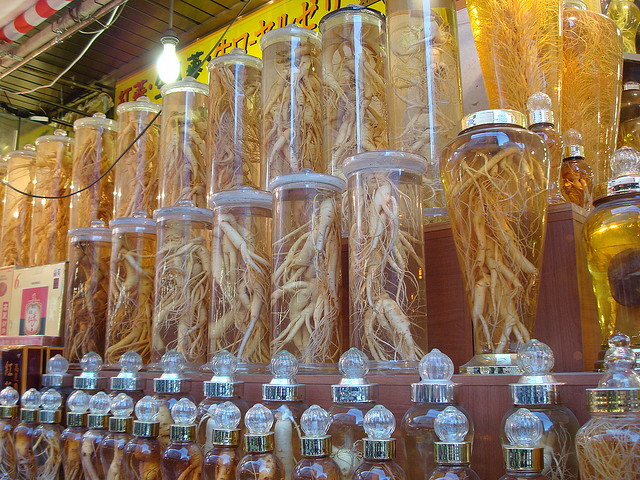 In the past, ginseng has been classified as a medicine, not a food, causing more stringent customs inspections when brought into foreign countries. Higher import tariff rates were also applied to ginseng products. (image: linkway88/flickr)