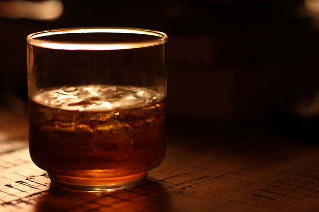 Decreased sales of leading brands like Windsor and Imperial led the struggle, but Golden Blue, which pioneered the low alcohol whiskey market, saw its sales increase by more than 57 percent. (image: Dominick/flickr)