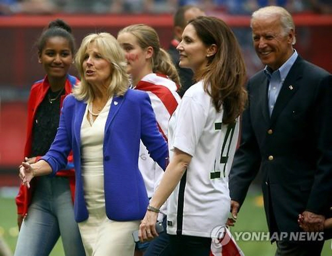 Jill Biden will visit South Korea next week for meetings on women's education and economic empowerment issues. (image: Yonhap)
