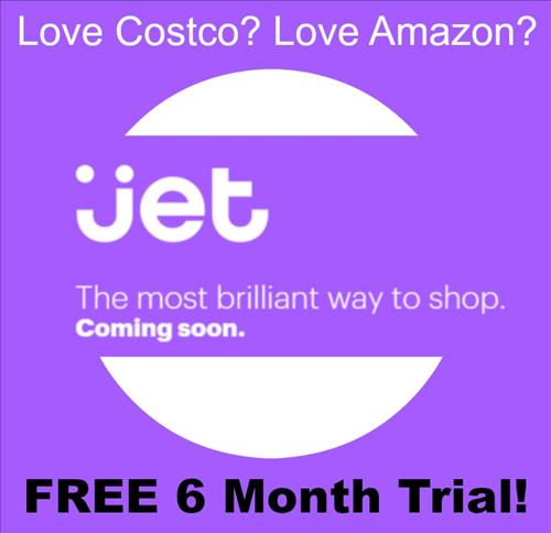 Under the slogan, 'You can buy anything', Jet is an intermediate form of Amazon, which appeals with low prices, and Costco, where you can buy things in bulk for cheap prices. (image: Jet)