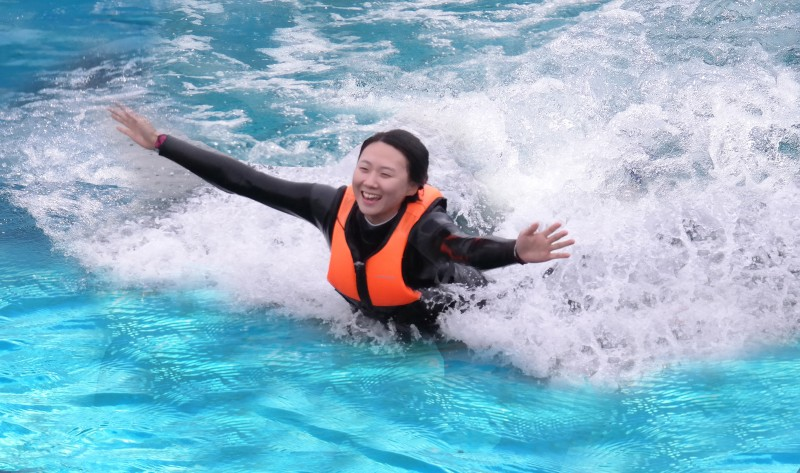 Riding Dolphins at Sea Now Possible at Geoje