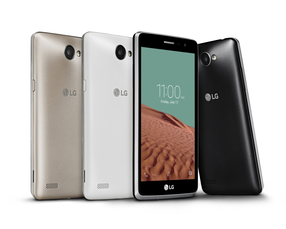 The LG Bello II is the successor to last year's popular L Bello and features a large display, a more powerful selfie camera and key camera features carried over from the company's premium models. (image: LG Electronics)