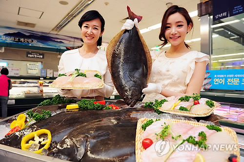 Due to such restrictions, the amount of Korean flatfish exported to Japan in the first half of this year fell to 1,018 tons, a drop of 14 percent compared to the same period last year. (image: Yonhap)