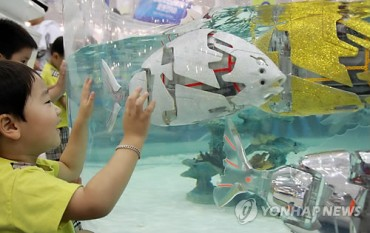 Robot Fish to be Permanently Displayed at Busan Maritime Museum