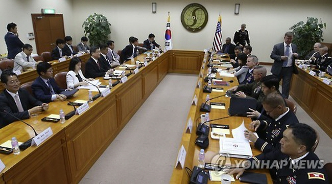 The allies discussed the issues in a twice-a-year meeting on implementing the bilateral Status of Forces Agreement (SOFA), which defines areas of legal responsibility over the 28,000-strong U.S. Forces Korea (USFK). (image: Yonhap)