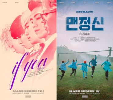 BigBang Tops 8 Music Charts upon Release of New Single Album