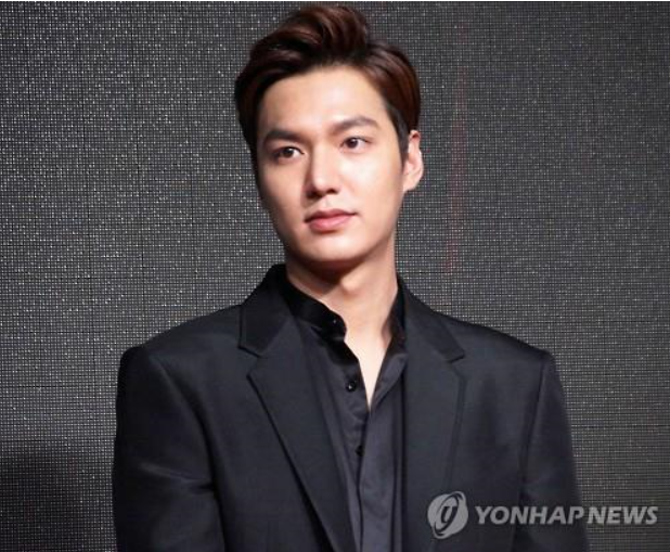 Actor Lee Minho (image courtesy of Yonhap)
