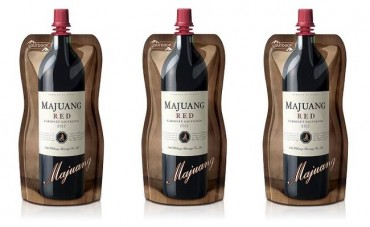 Lotte First to Introduce Wine in Pouch Packaging