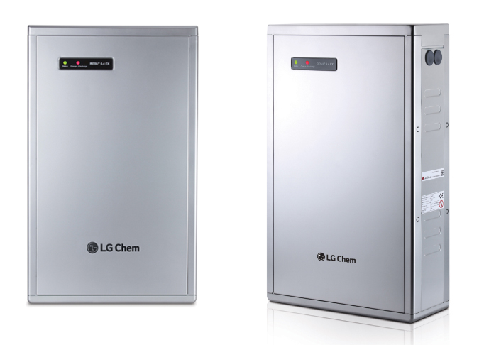 The ESS refers to the procedures of saving energy in a large-scale battery for efficient distribution of power. (image: LG Chem)