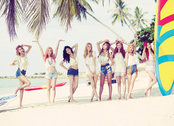 Girls' Generation Is Back Sweeping Music Charts