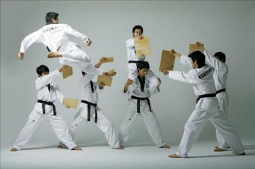 Taekwondo Performances Staged at Kukkiwon