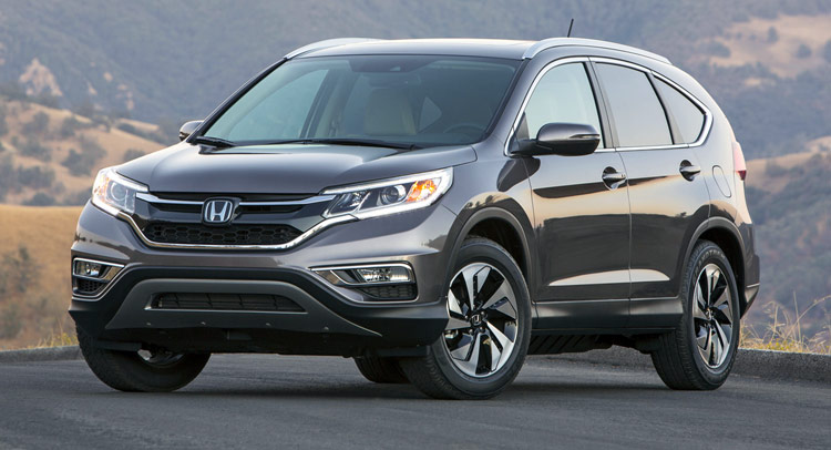Subject to the recall are 18,690 CR-V vehicles produced between May 24, 2006, and March 29, 2011, according to the ministry. The image displayed here is the model for 2015. (image courtesy of Honda)