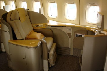 Asiana to Eliminate Almost First-class Seats from Its International Flights to Cut Losses