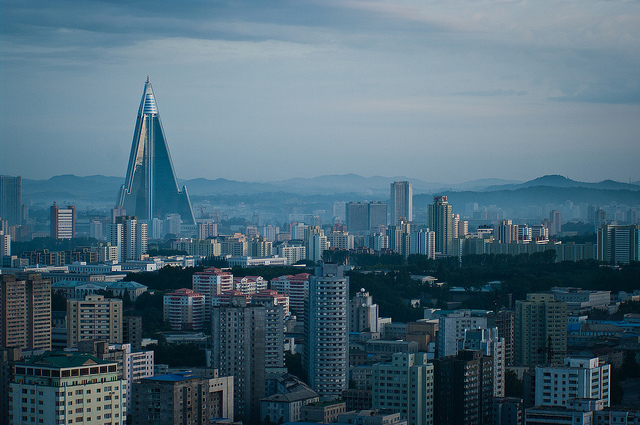 The Korea National Insurance Company (KNIC), the state-run insurance company in North Korea, revealed on their homepage that issues related to mobile phone insurance were discussed at the annual governors' meeting in February. (image: Jen Morgan/flickr)