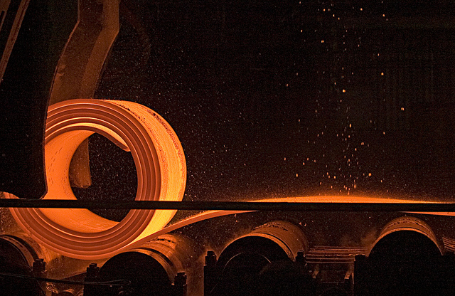"""The U.S. International Trade Commission posted a notice in the Federal Register saying it has instituted the investigation to determine whether the U.S. industry is harmed by """"imports of certain hot-rolled steel flat products from Australia, Brazil, Japan, Korea, the Netherlands, Turkey and the United Kingdom."""" (image: Mouser Williams/flickr)"""