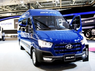 Hyundai to Roll Out Solati Minibus on Home Turf