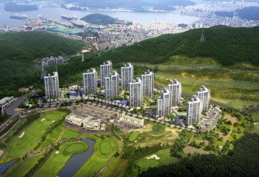 First Golf Course Apartment Complex Coming to Geoje Island