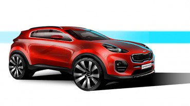 Rendered Images of Kia's New Sportage Unveiled