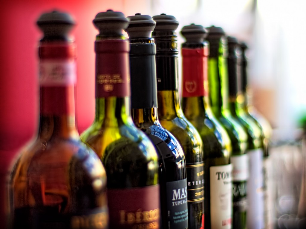 Wine is calling the shot these days. (image credit: Alex Brown/flickr)