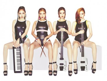 Wonder Girls Says Its Rock Band Concept Permanent