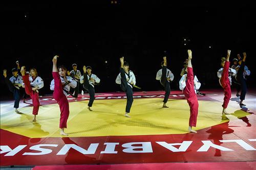 Taekwondo Demonstration. (Image : World Taekwondo Foundation)