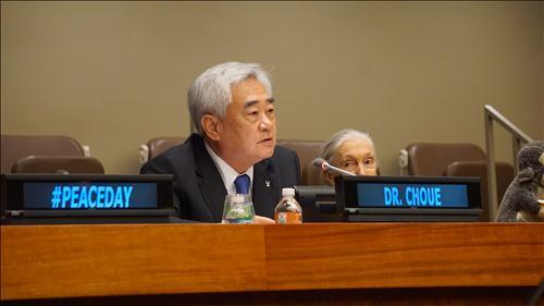 Cho Jeong-won, head of the WTF. (Image : World Taekwondo Foundation)