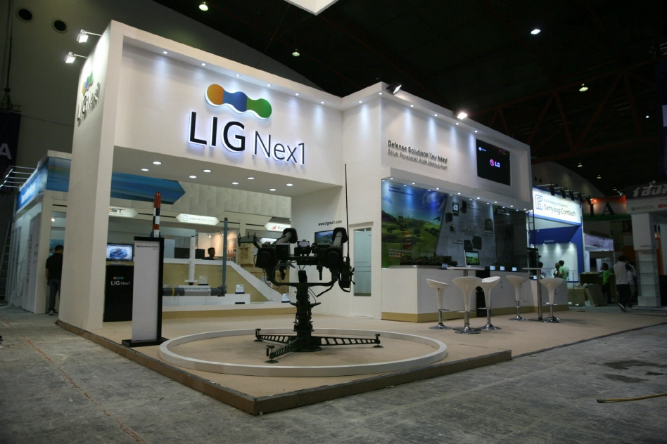 LIG Nex1, one of South Korea's major suppliers of weapons systems for the country's armed forces, has posted a 20-percent sales growth in the last three years. (image: LIG Nex1)