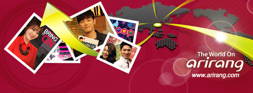 Arirang TV will host a session of the World Economic Forum in China later this week. (image: Arirang TV)