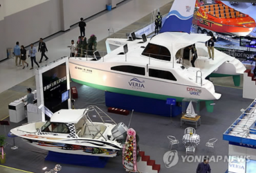 On a Boat, Like a Boss, at the Busan International Boat Show